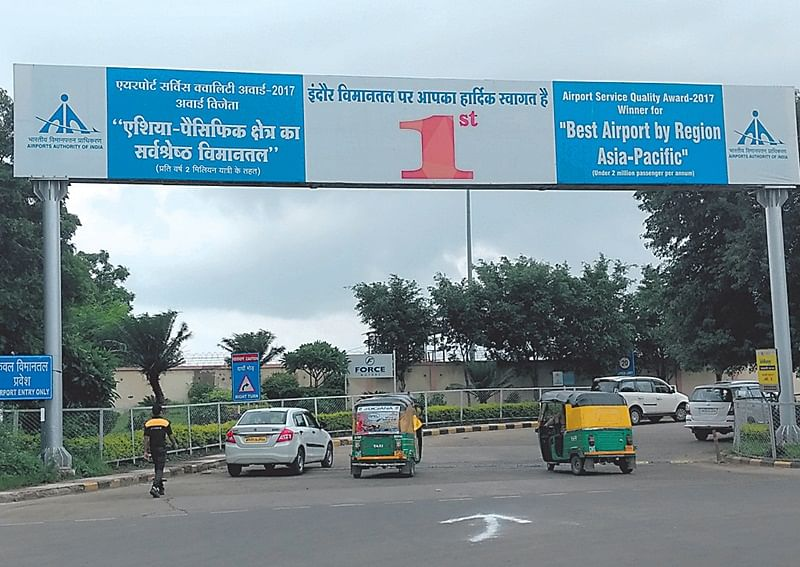 Indore: Indore airport on global map from April
