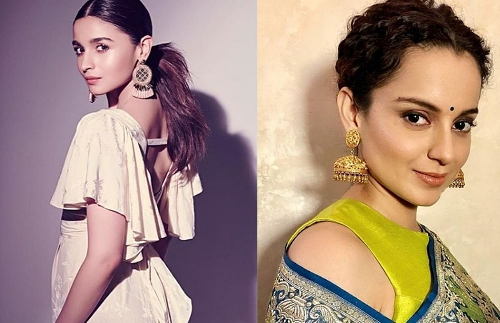 Alia's reaction to Kangana's calling her 'apolitical' makes more sense than the latter's bashing