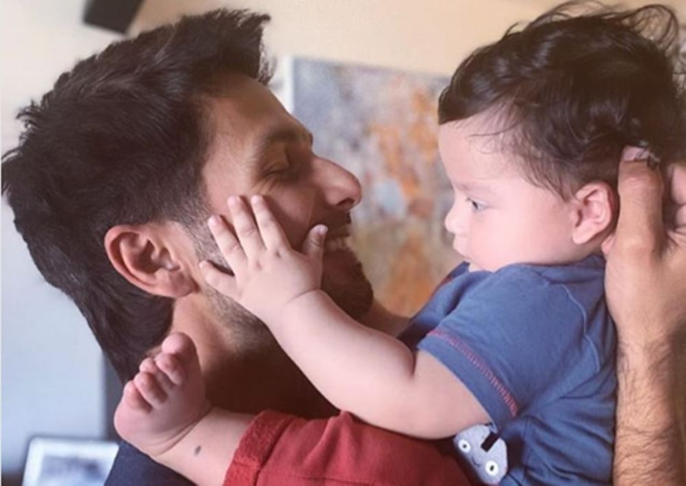 This pic of Shahid Kapoor holding son Zain is undoubtedly heart melting