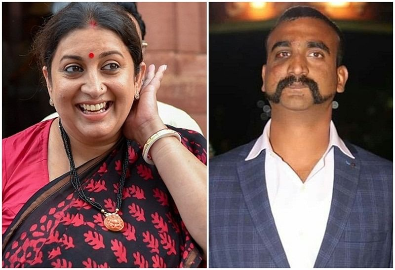 I am not supposed to tell you this! Smriti Irani shares meme inspired by IAF pilot Abhinandan's viral video