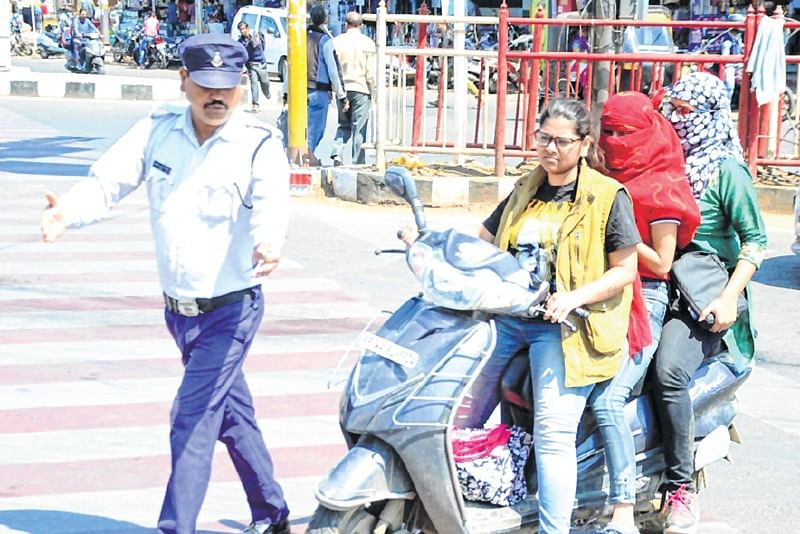 Bhopal: No more VVIP treatment to women, fined for traffic violation