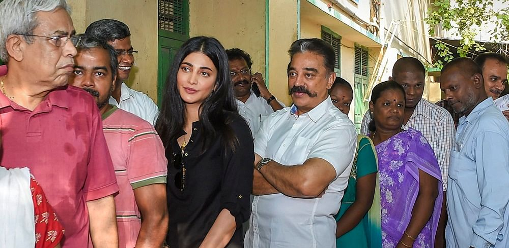 South Superstars Rajinikanth, Kamal Haasan, Ajith Kumar cast vote