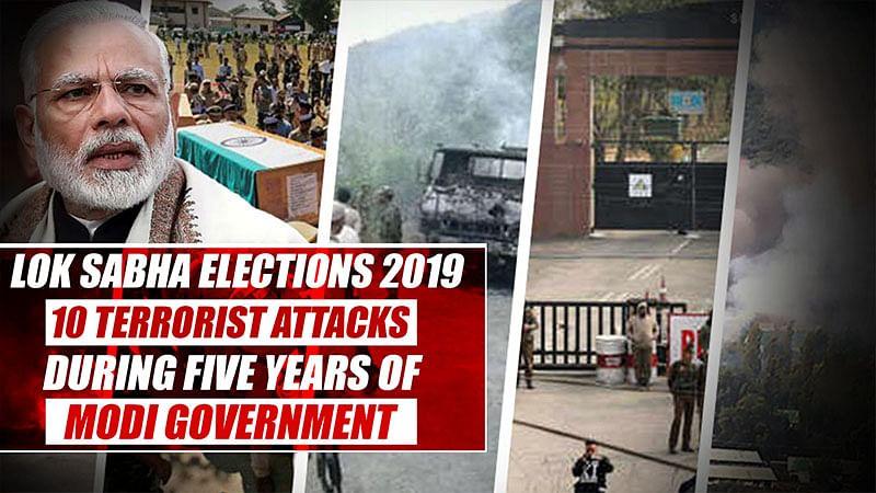 Lok Sabha Elections 2019: 10 Terrorist Attacks During Five Years Of Modi Government