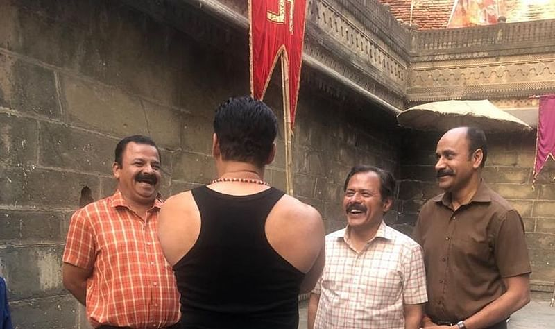 'Shivling' found under wooden planks on Salman Khan's `Dabangg 3′ set creates controversy