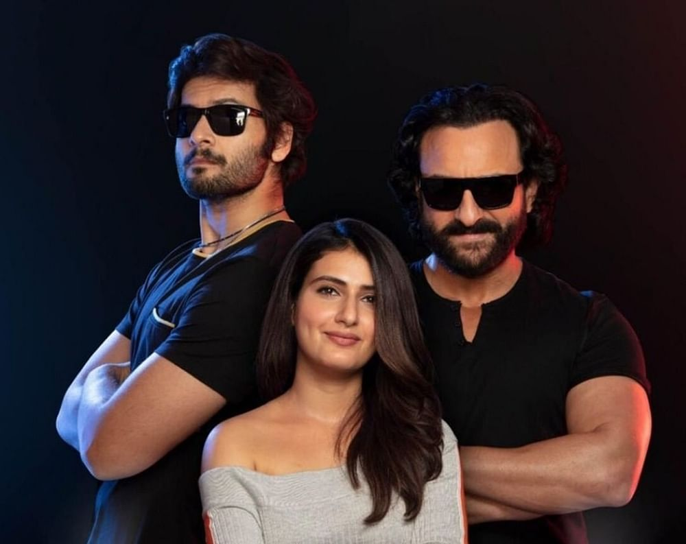 Saif Ali Khan, Fatima Sana Shaikh to spook you out in 3D in 'Bhoot Police'
