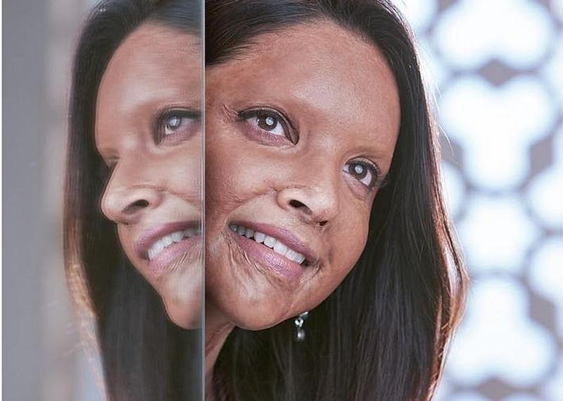 Chhapaak: Deepika Padukone snapped in full prosthetic makeup as acid attack survivor