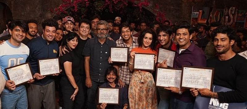 Shraddha Kapoor gets emotional after Chhichhore's wrap up