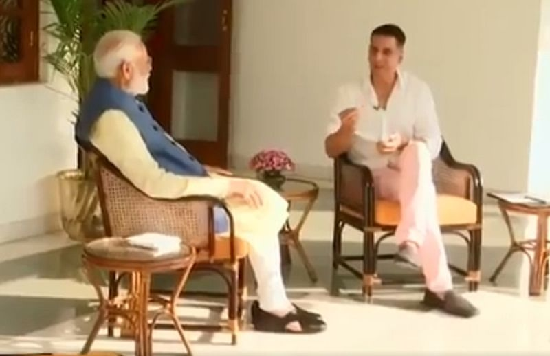 Candid and completely non-political: Akshay Kumar to engage in a chat with PM Narendra Modi today