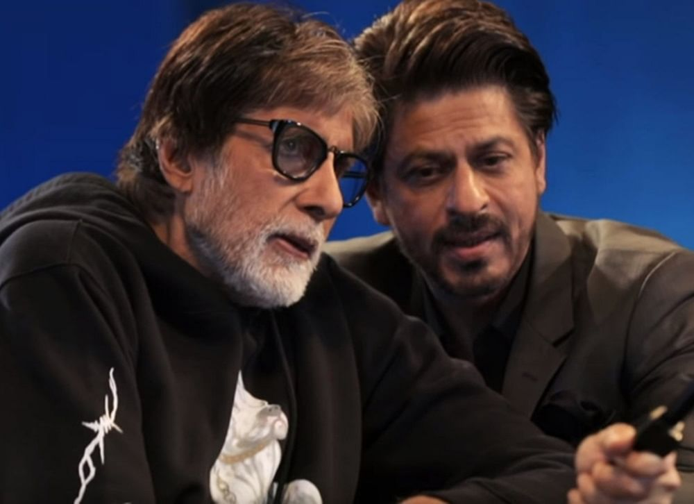 Amitabh Bachchan, Shah Rukh Khan's fun banter about 'Badla' success party is too hilarious to miss