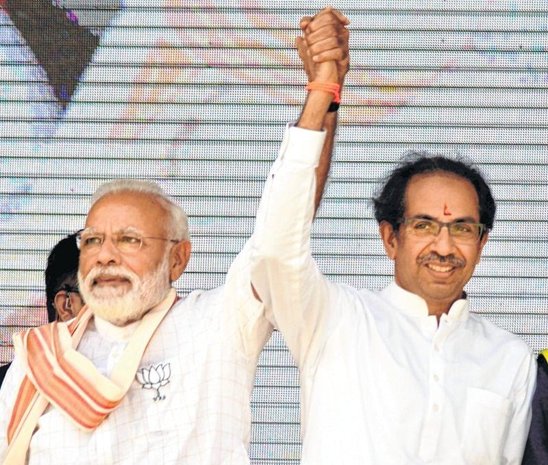 Maharashtra: BJP-Shiv Sena alliance leads on 31 seats, Congress-NCP on 16