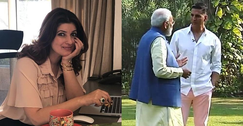 Twinkle Khanna reacts to PM Modi mentioning her to hubby Akshay Kumar, 'All anger is spent on me, you must be at peace'