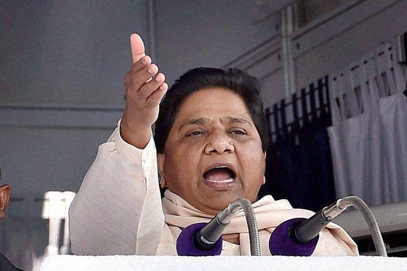 This election will see end of those chanting Namo, Namo: Mayawati
