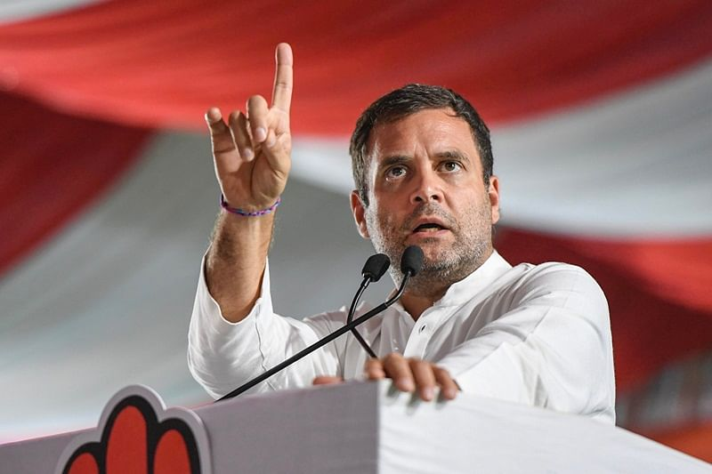Home ministry issues notice to Rahul Gandhi over his citizenship