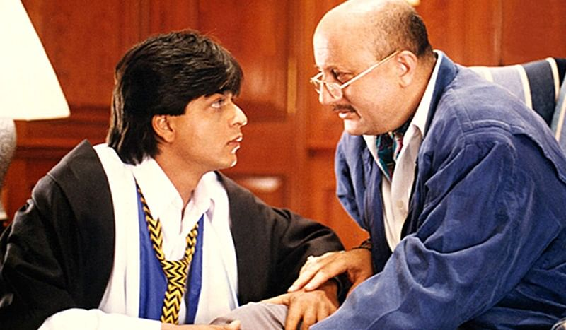 Shah Rukh Khan and Anupam Kher Twitter banter calls for a Dilwale Dulhania Le Jayenge reunion!