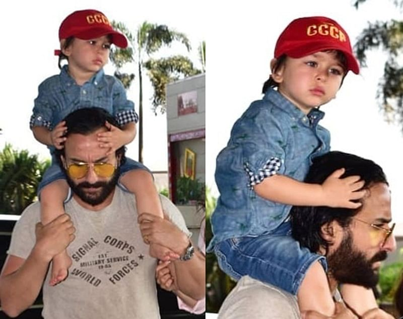Stop it! My child will go blind: Saif Ali Khan to paparazzi