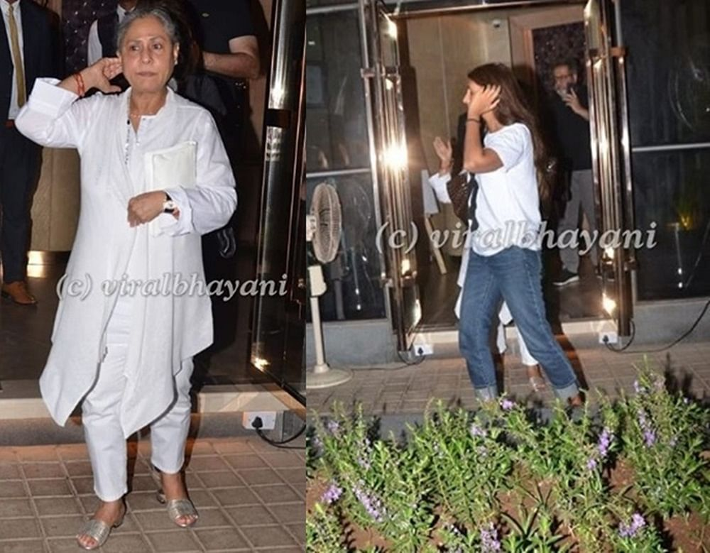 In Pics: Jaya Bachchan celebrates 71st birthday with daughter Shweta and friends