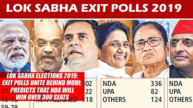 Lok Sabha Elections 2019: Exit Polls Unite Behind Modi; Predicts That NDA Will Win Over 300 Seats