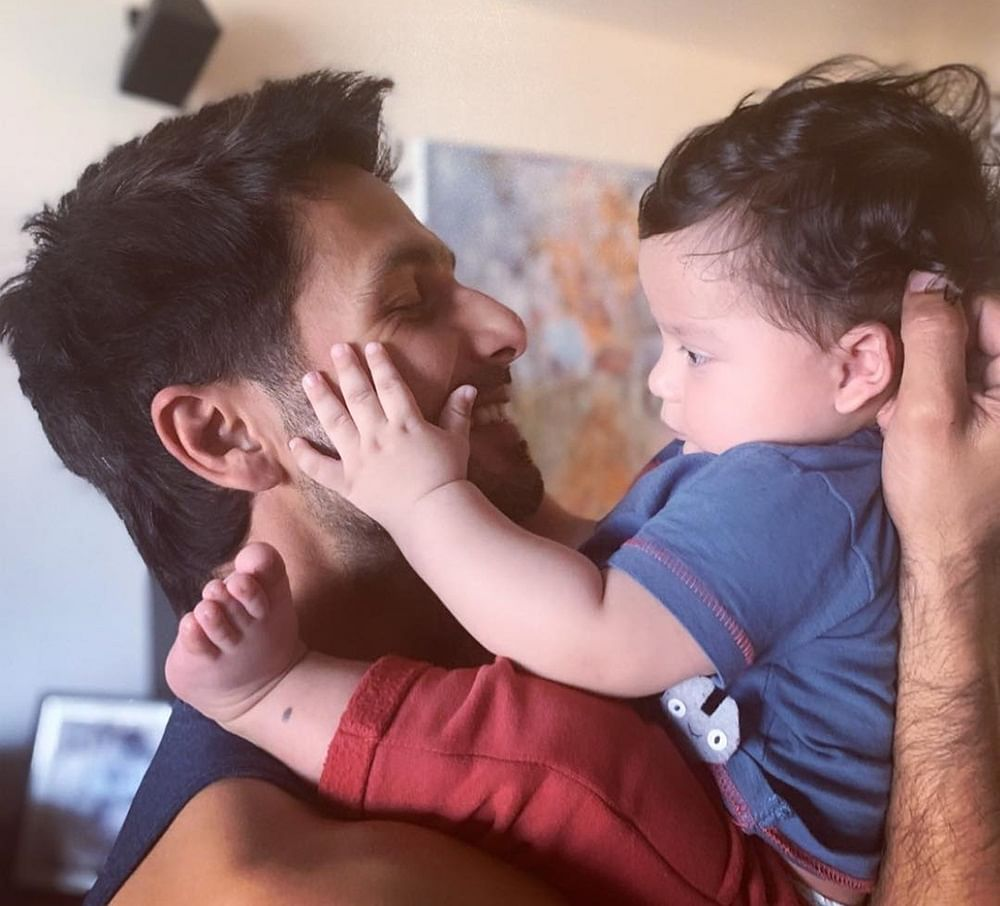 Shahid Kapoor and his son Zain win the internet with this video