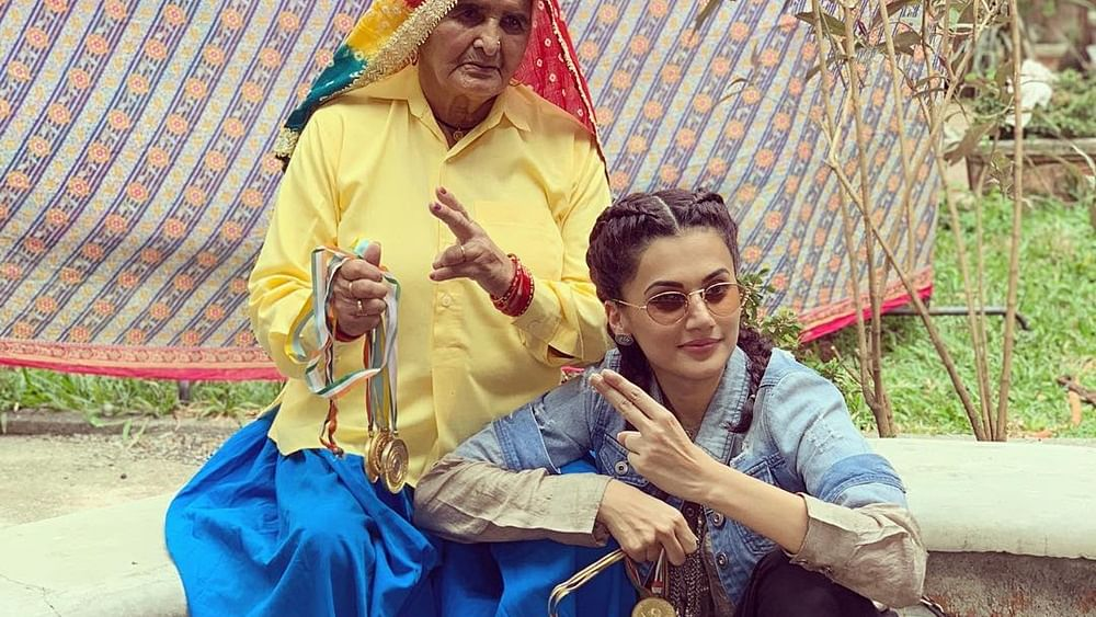 Taapsee Pannu lived with real-life 'Shooter Dadis' before filming 'Saand Ki Aankh'