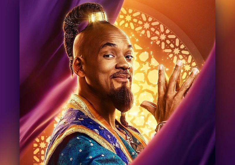 "Will Smith found playing role of Genie stressful in ""Aladdin"""