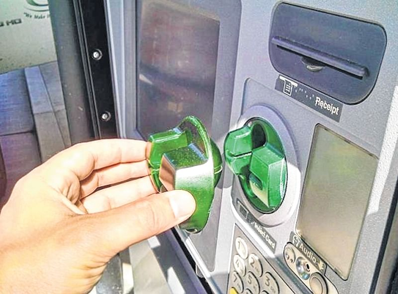 Indore: Youth damaging ATM machine captured by CCTV