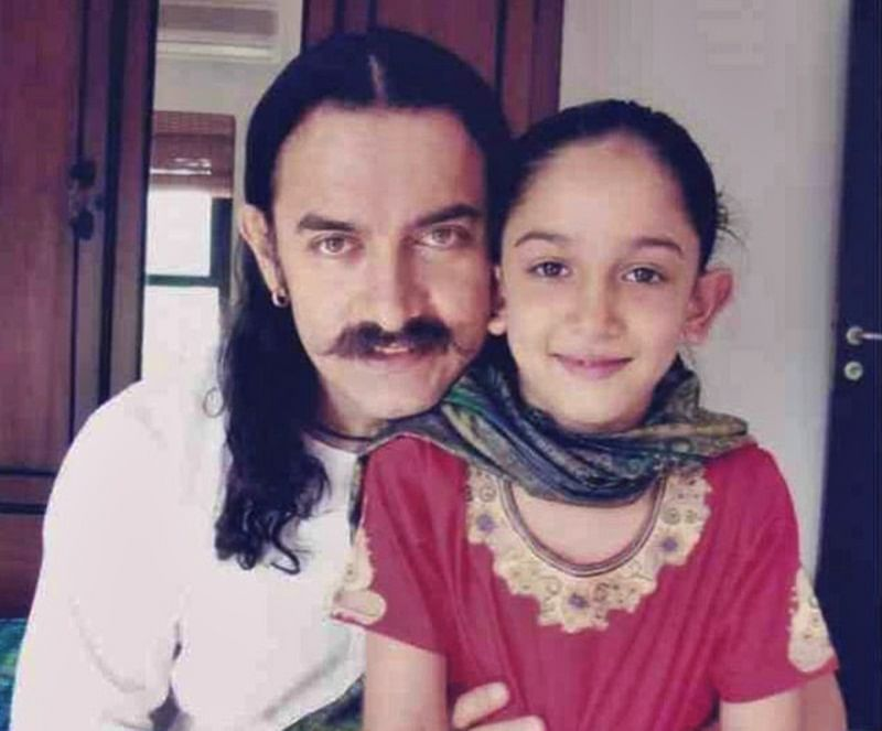 Aamir Khan shares a childhood pic of daughter Ira as she turns 21