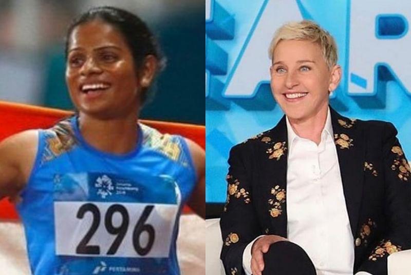 Ellen DeGeneres proud of Indian sportsperson Dutee Chand