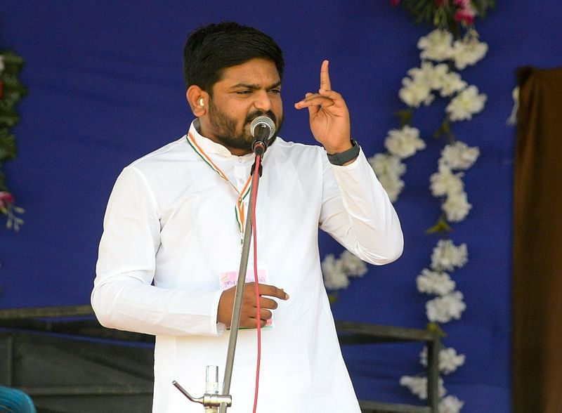 PM Narendra Modi running away from real issues: Hardik Patel
