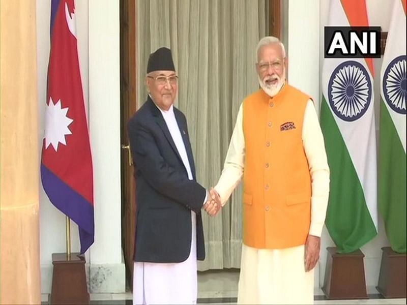 PM Modi holds bilateral meeting with Nepalese counterpart