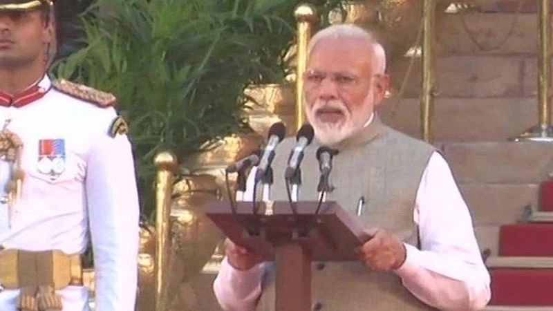 Modi takes oath as PM for second term