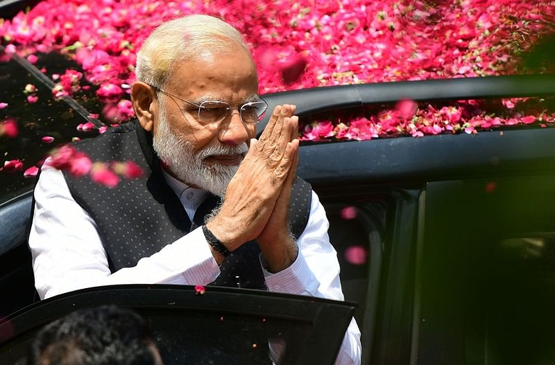 BJP heads to spectacular win as Modi's message of nationalism, security, economy strikes chord across India