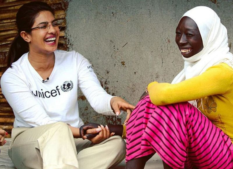 Pictures of Priyanka Chopra Jonas bonding with kids in Ethiopia are adorable!