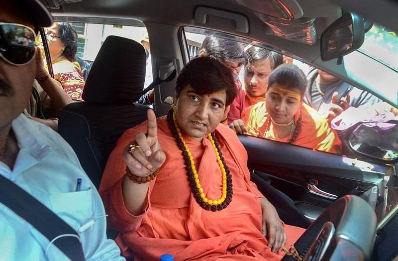 EC seeks factual report from Madhya Pradesh CEO over Pragya Thakur's 'Nathuram Godse is patriot' remark