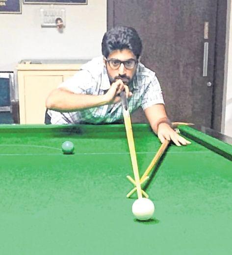 Rishabh Thakkar cracks ton break