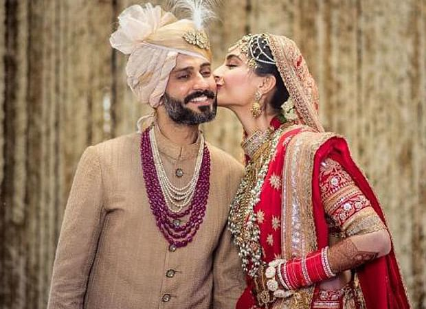 Sonam shares unseen anniversary video from her wedding with Anand Ahuja