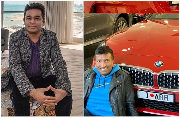 Check out AR Rahman's adorable reply to fan who engraved the music maestro's name on new car