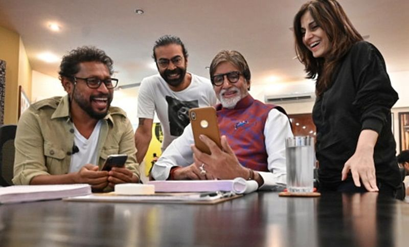 Amitabh bachchan gives sneak peek into his upcoming film 'Chehre's look