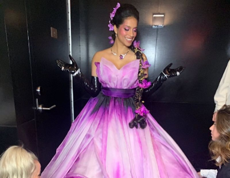 Lilly Singh makes Met Gala debut in Jeremy Scott ensemble